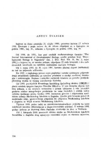 Anton Švajger