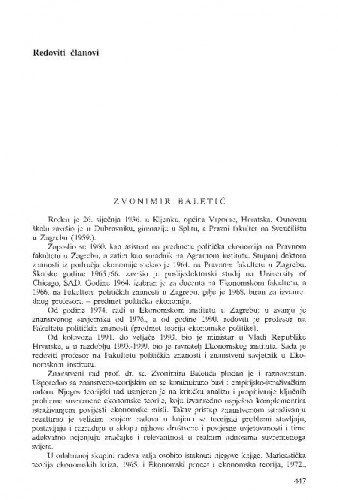 Zvonimir Baletić