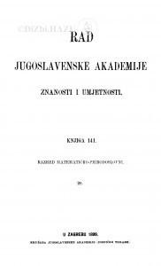 Knj. 28(1899)=knj. 141