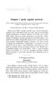Strugača i njezin zapadni nastavak / D. Gorjanović-Kramberger