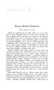 Pavao Ritter-Vitezović / Radoslav Lopašić
