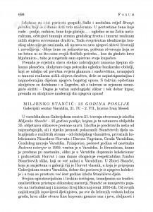 Miljenko Stančić: 35 godina poslije, Galerijski centar Varaždin, 21. IV.-2. VII., kustos Ivan Mesek : [likovna kronika] / Ivica Župan