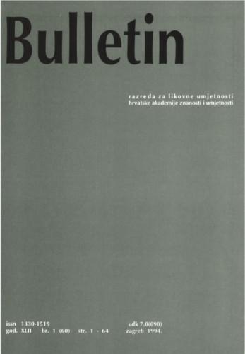 Bulletin Razreda za likovne umjetnosti Hrvatske akademije znanosti i umjetnosti