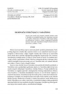 Isusovački stručnjaci u Varaždinu / Stanislav Južnič