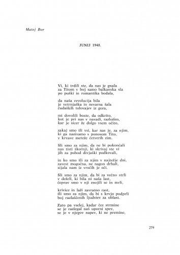 Junij 1948 / M. Bor