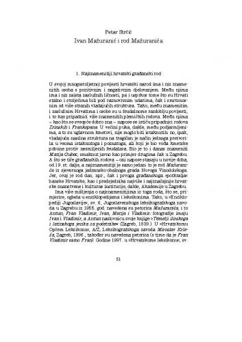 Ivan Mažuranić i rod Mažuranića