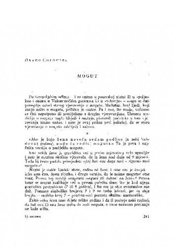 Mogut / D. Chloupek