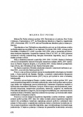 Milena Žic Fuchs
