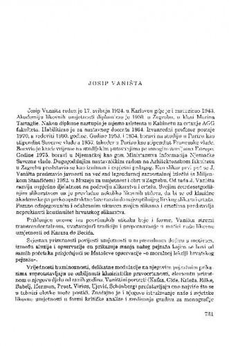 Josip Vaništa