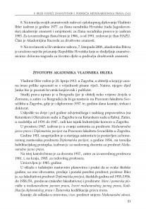 Životopis akademika Vladimira Iblera
