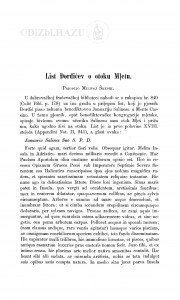 List Đorđevićev o otoku Mljetu / Milivoj Šrepel
