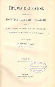Sv. 12: Listine godina : 1351-1359
