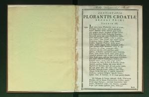 Continuatio Plorantis Croatiae / [napisao Pavao Ritter Vitezović]