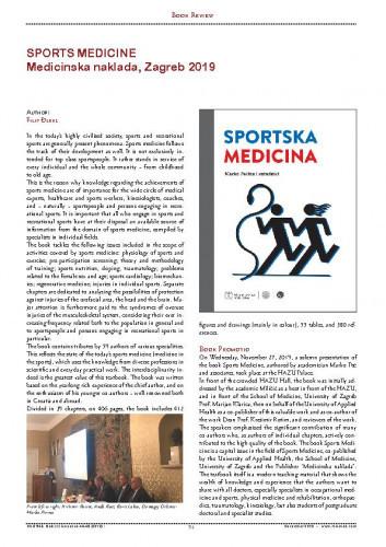 Sports Medicine : Medicinska naklada, Zagreb 2019 (Marko Pećina et col.) : [Book Review] / Filip Đerke
