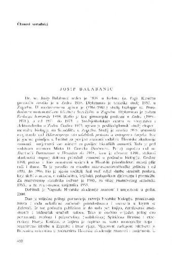 Josip Balabanić