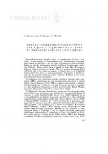 Metoda indirektne fluorescencije antitijela u dijagnostici humane ehinokokoze i goveđe cisticerkoze / T. Wikerhauser, N. Džakula i V. Kutičić