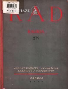 Knj. 4(1950)=knj. 279 [2.] / uredio Cvito Fisković