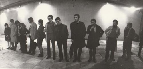 Izložba Jagode Kaloper, Galerija SC, svibanj 1970
