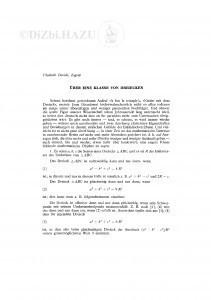 Ueber eine Klasse von Dreiecken / V. Devidé