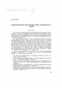 Normalenkomplex der Flächen einer Flähenschar 2. Grades / Lj. Dočkal