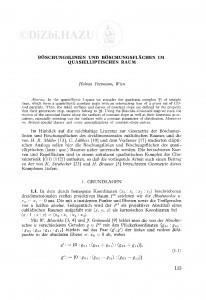 Boeschungslinien und Boeschungsflächen im quasielliptischen Raum / H. Pottmann