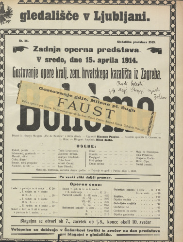 Faust Velika opera u pet činova