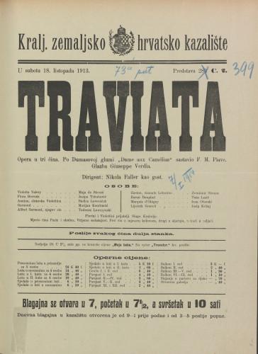 Traviata Opera u tri čina
