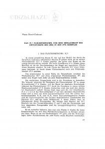 Das /Fk2/ Flächenbüschel und eine Möglichkeit des Eintanchens des (MK) in den (VN) Komplex / V. Ščurić-Čudovan
