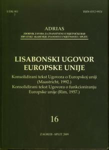 Sv. 16 (2009) / glavni urednik Davorin Rudolf