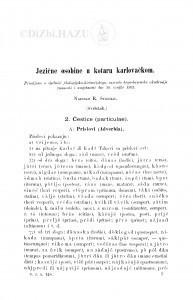 Jezične osobine u kotaru karlovačkom / R. Strohal