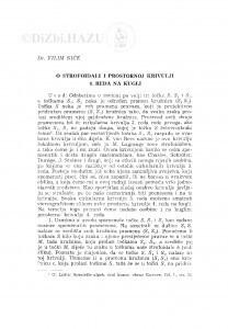 O strofoidali i prostornoj krivulji 4. reda na kugli / V. Niče