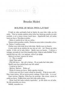 Bolfek je moja prva ljubav / Branko Maleš