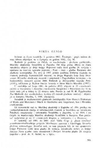 Nikša Gligo