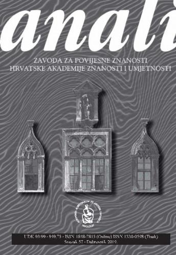 Sv. 57 (2019) / glavni urednik Nenad Vekarić