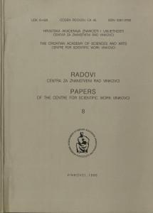 Knj. 8(1996) / urednici Dušan Klepac, Katica Čorkalo