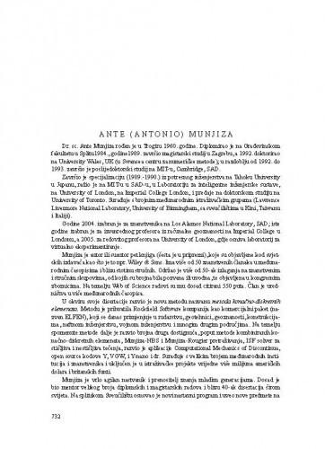 Ante (Antonio) Munjiza