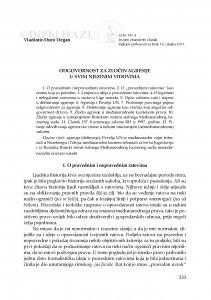 Odgovornost za zločin agresije u svim njezinim vidovima / Vladimir-Đuro Degan
