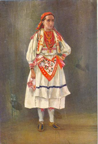 Rojc, Nasta (1883-1964) : Seljanka iz Šestina