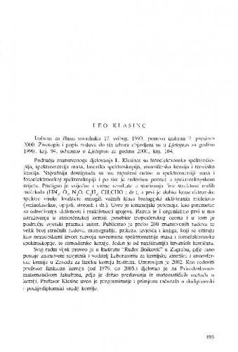 Leo Klasinc