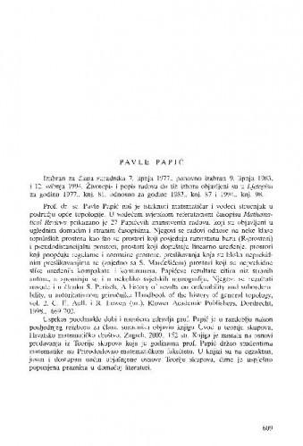 Pavle Papić