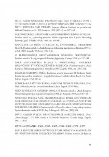 Bibliografija djela Maje Bošković-Stulli / Ana Batinić
