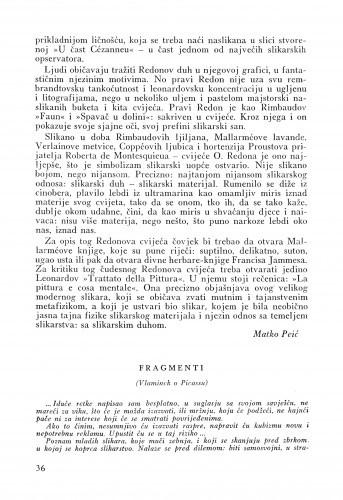 Fragmenti : Vlaminck o Picassu / Maurice de Vlaminck
