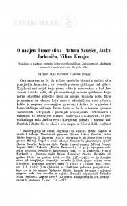 O našijem humoristima: Antunu Nemčiću, Janku Jurkoviću, Vilimu Korajcu / V. Dukat