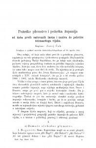 Požeško plemstvo i požeška županija od doba prvih sačuvanih imena i naziva do polovice četrnaestoga vijeka / J. Ćuk