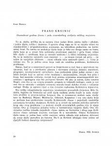 Frano Kršinić : osamdeset godina života i pola stvaralačkog stoljeća velikog majstora / Josip Depolo