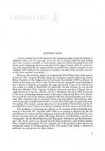 Editor's note : Riječ urednika / K. Balenović