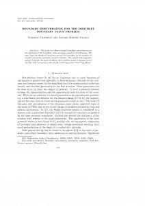 Boundary perturbation for the Dirichlet boundary value problem / Tomislav Fratrović, Eduard Marušić-Paloka
