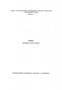 Knj. 1(1948)=knj. 274 [2.] / urednik Grga Novak