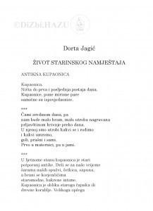 Život starinskog namještaja / Dorta Jagić