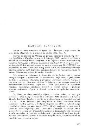 Radovan Ivančević